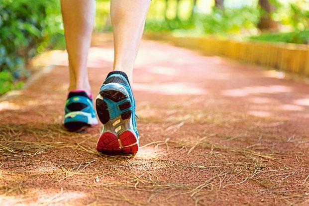 đi bộ giảm cân 0