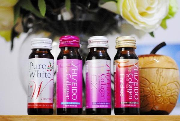 collagen shiseido dạng nước review 1